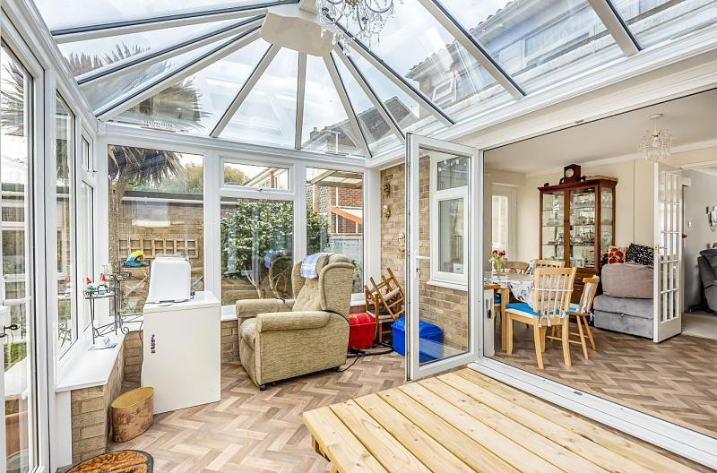 Conservatory through to family/dining room