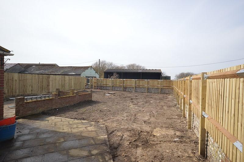 Garden - Grass to be seeded