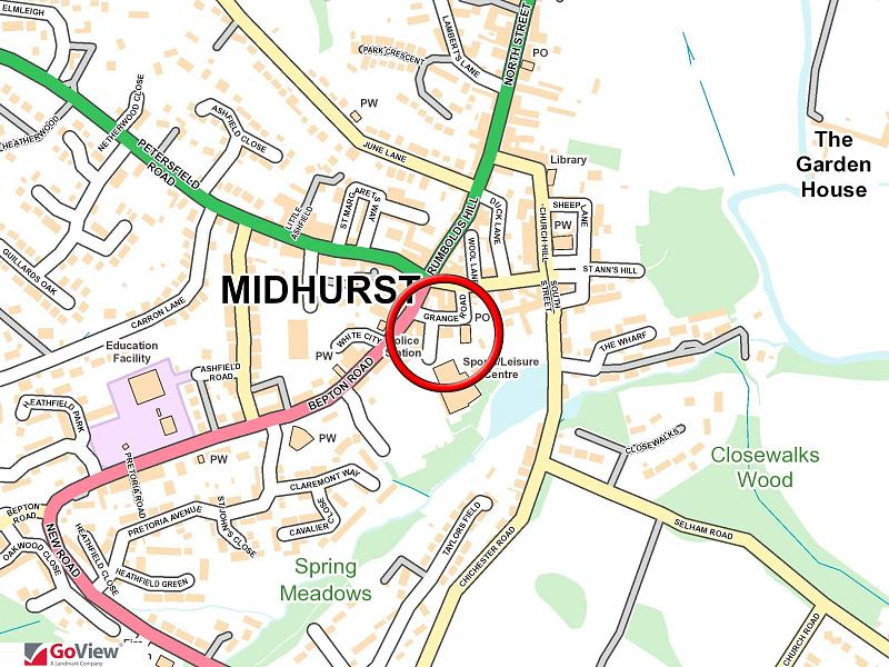 Central town location