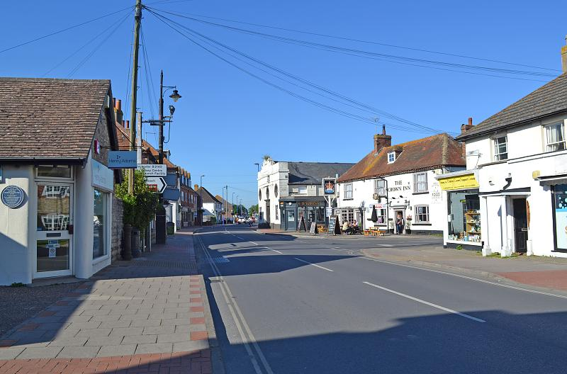 Location/Area Shot (Selsey High Street)