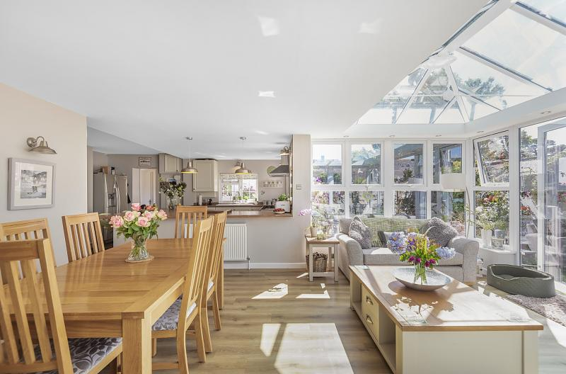 Dining Room and Conservatory