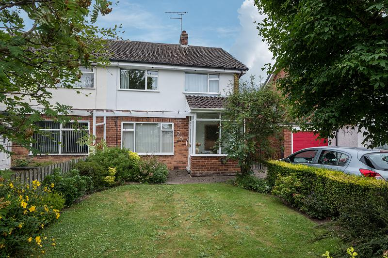 3 bedroom  Semi Detached House for Sale in Vicars Cross